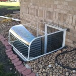 Metal egress with bubble cover-1