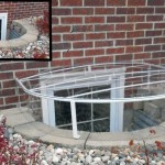 Raised Oval Cover on Brick Wall