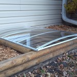 wood egress with cover low profile-1